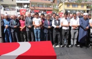Diyarbakır şehitleri 'kahrolsun PKK' sloganları...