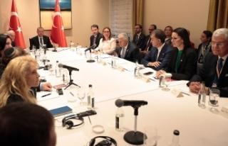 Erdoğan ABD'de Yahudi kuruluş temsilcileriyle...