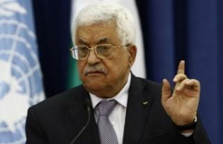 """Filistin Devlet Başkanı Abbas: """"Tarihe Kudüs'ü..."""