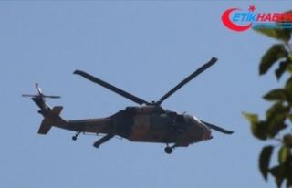 Fırat'ın doğusunda dördüncü ortak helikopter...