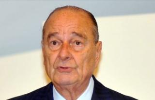 Fransa'nın eski Cumhurbaşkanı Jacques Chirac...