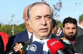 Galatasaray Kulübü Başkanı Mustafa Cengiz PFDK'ye...