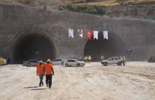 Hasankeyf tünelinde sona doğru