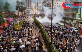 Hong Kong yönetimi tartışmalı yasa tasarısında...