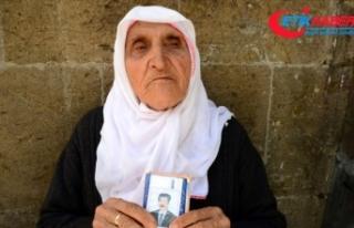 Hurinaz nine PKK'nın kaçırdığı oğlunun...