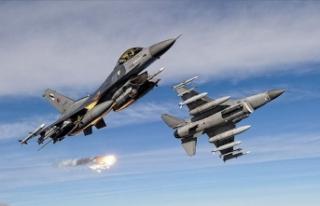 Irak'ın kuzeyinde PKK'lı 7 terörist etkisiz...