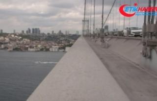 İşte köprüde herhangi bir hasarın olmadığının...