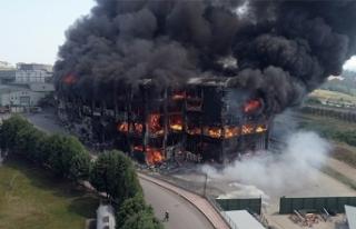 Kocaeli'de 4 kişiye mezar olan fabrikadaki yangına...