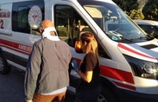 Kocaeli'de halk otobüsü kazaya karıştı:...