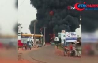 Mali'de tanker patladı: 7 ölü