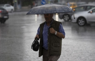 Marmara'da 4 il için kuvvetli yağış uyarısı
