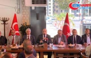 MHP'li Yönter: Beraberce felaketlere karşı...