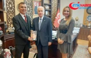 MHP Lideri Bahçeli'yi anlatan ödüllü kitap...