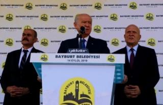 MHP Lideri Bahçeli: CHP terörle mücadeleyi sulandırmaktan,...