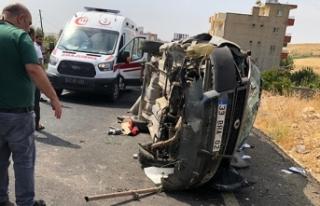 Nusaybin'de trafik kazası: 2'si çocuk...
