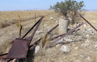 Polatlı'da Yunan ordusuna ait patlamamış bir...
