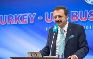 TOBB Başkanı Rifat Hisarcıklıoğlu: Türkiye-ABD...