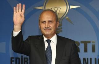 Ulaştırma ve Altyapı Bakanı Turhan: Hedeflerimize...