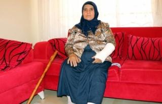 Yaşlı kadını otomobille ezip, damadını da dövdüler