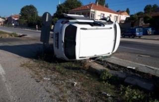 Yozgat'ta trafik kazası: 8 yaralı!