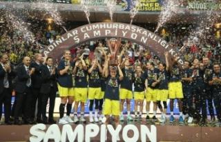 27. Kadınlar Cumhurbaşkanlığı Kupası Fenerbahçe'nin