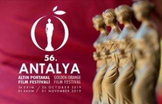 56. Antalya Altın Portakal Film Festivali yarın...