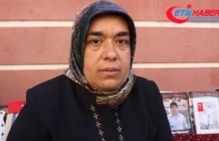 Acılı anne HDP önüne gelmeden önce tehdit edilmiş