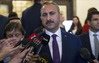 Adalet Bakanı Gül: Yargıya güven artırıcı çalışmalar...