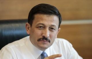 AK Parti'den Tunç Soyer'in 'Kıbrıs'...