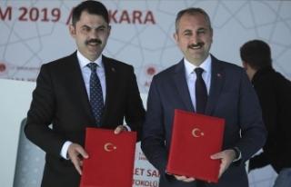Ankara'da Yeni Adalet Sarayı yapılacak