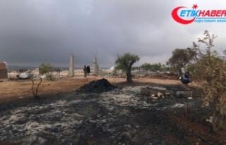 Bağdadi'nin öldüğü yer görüntülendi