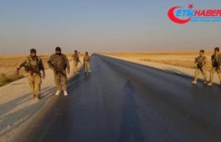 Barış Pınarı Harekatı'nda stratejik M4 kara...