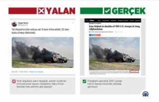 Barış Pınarı Harekatı aleyhine 'yanan askeri...