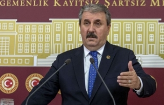 BBP Genel Başkanı Destici: Bölgenin tamamı teröristlerden...