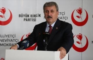BBP Genel Başkanı Destici: Kararlılığımızı...