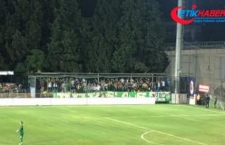 Bursaspor'a ayrılan tribün UEFA'ya şikayet...