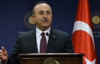 Dışişleri Bakanı Çavuşoğlu: Büyük bir oyunu...