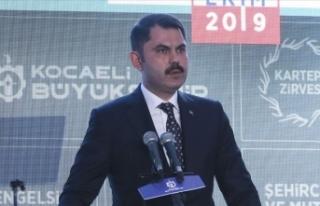 Çevre ve Şehircilik Bakanı Kurum: Kaçak yapılaşmaya...
