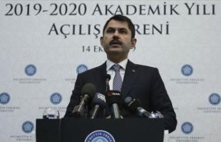 Çevre ve Şehircilik Bakanı Kurum: Ülkemize yaşatılanlar...