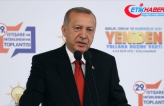 Cumhurbaşkanı Erdoğan: Belki bugün, belki yarın...