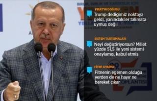 Cumhurbaşkanı Erdoğan: AK Parti, milletimizin tek...