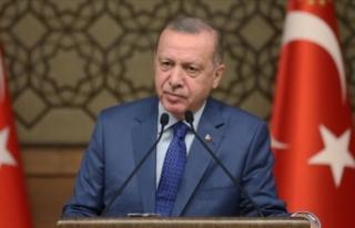 Cumhurbaşkanı Erdoğan'dan Le Point dergisine...