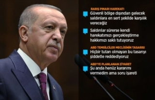 Cumhurbaşkanı Erdoğan: Gerekirse güvenli bölge...