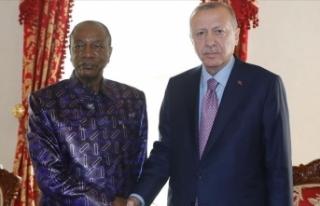 Cumhurbaşkanı Erdoğan, Gine Cumhurbaşkanı ile...