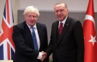 Cumhurbaşkanı Erdoğan ile Boris Johnson telefonda...