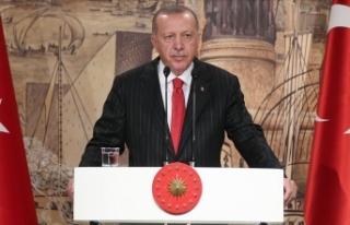 Cumhurbaşkanı Erdoğan: İstiklal Harbimizin benzerini...