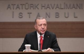 Cumhurbaşkanı Erdoğan: Münbiç konusunda uygulama...
