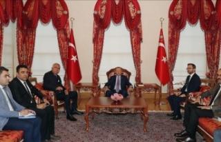Cumhurbaşkanı Erdoğan, Raşit Dostum'u kabul...