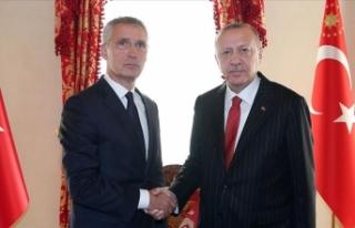 Cumhurbaşkanı Erdoğan Stoltenberg'i kabul...