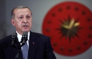 Cumhurbaşkanı Erdoğan: Suriye'yi bölüp parçalamak...